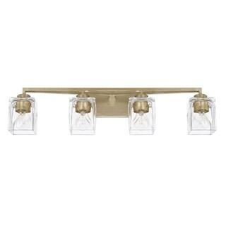 Capital Karina 4-light Winter Gold Bath/Vanity Fixture