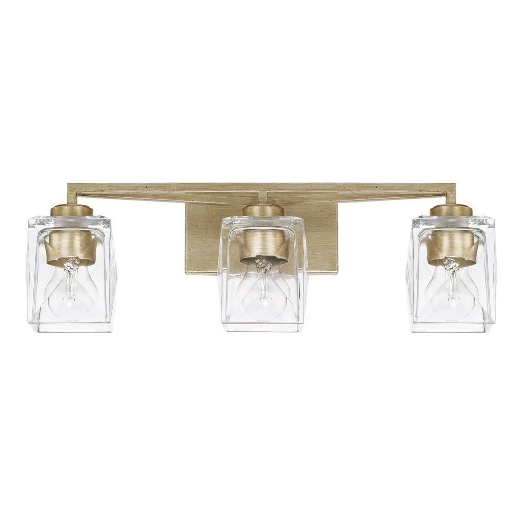 Karina 3 Light Winter Gold Bath Vanity Fixture Overstock 22746696