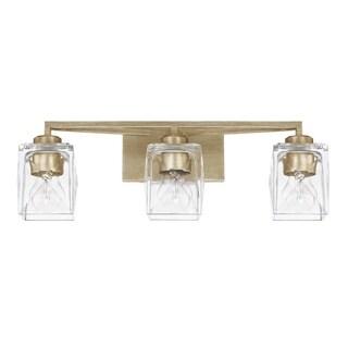 Capital Karina 3-light Winter Gold Bath/Vanity Fixture