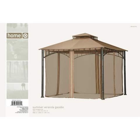 Sunjoy Replacement Canopy Set For L Gz093pst Summer Veranda Gazebo