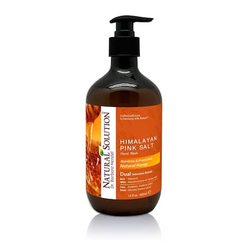 Natural Solution Hand Wash, Natural Honey, 14 oz