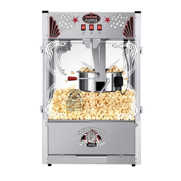 Tabletop Popcorn Maker Machine With 20 Ounce Kettle  Theater Style Superior  Popcorn Company