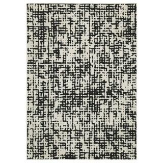Signature Design by Ashley Jezel Black/White Large Rug - 8' x 10'
