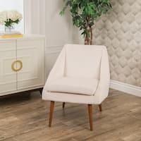 Abbyson Jodi Mid Century Velvet Accent Chair