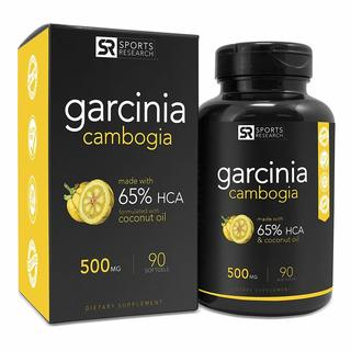Sports Research Garcinia Cambogia Weight Loss Pills (90 Softgels)