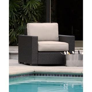 Serta Laguna Outdoor Arm Chair - Brown Wicker