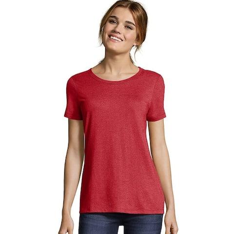 Hanes womens Modal Triblend T-Shirt (MO150)
