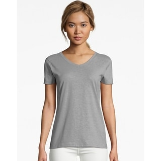 ce35e8c9e Hanes Tops | Find Great Women's Clothing Deals Shopping at Overstock