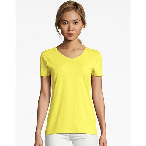 73abb0482da Yellow, Polyester Tops | Find Great Women's Clothing Deals Shopping ...