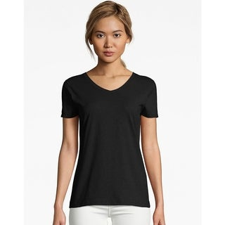 Hanes Womens X-Temp V-Neck T-Shirt (42V0)