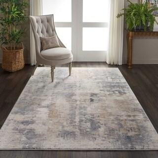 Nourison Rustic Textures Beige/Grey Area Rug - 3'11 x 5'11