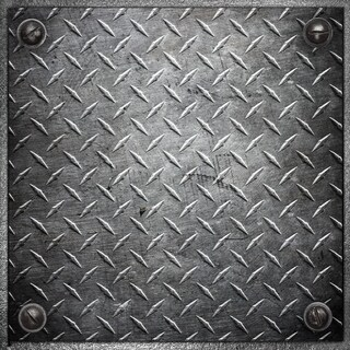 "Con-Tact Brand Floor Adorn Adhesive Decorative and Removable Vinyl Floor Tiles, Heavy Metal, 12""x12"", Set of 6 in Pack of 6"