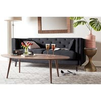 Elle Decor Celeste Tufted Sofa