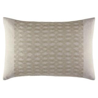 Vera Wang Silk Strie Hexagonal Throw Pillow