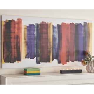 Premala Multicolor Stripe Wall Art - Multi-color