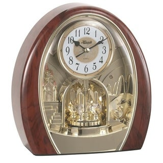 Jessica-Table Clock Featuring Christmas and Traditional Melodies