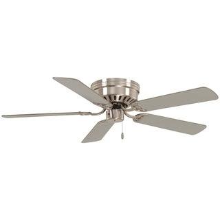 "Minka Aire Mesa With Led Light 52"" Led Flush Mount Ceiling Fan"