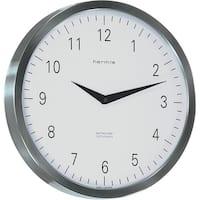Metropolitan-Stainless Steel Wall Clock