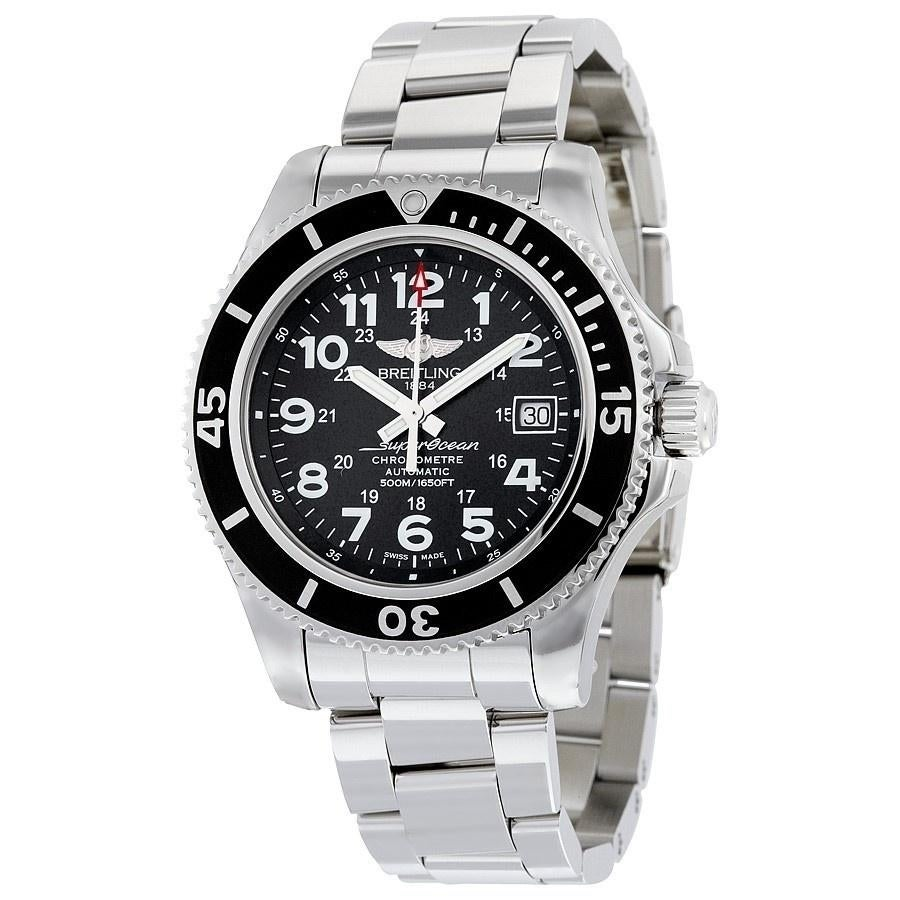 7a916a782bf Breitling Men s A17365C9-BD67-161A  Superocean II 42  Automatic Stainless  Steel
