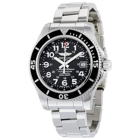 Breitling Men's A17365C9-BD67-161A 'Superocean II 42' Automatic Stainless Steel Watch