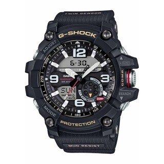 Link to Casio Men's GG1000-1A 'G-Shcok' Analog-Digital Black Resin Watch Similar Items in Men's Watches