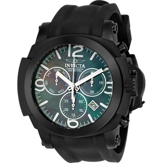 Invicta Men's 22279 'Coalition Forces' Black Silicone Watch