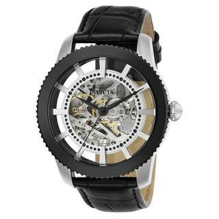Link to Invicta Men's 23637 'Vintage' Automatic Black Leather Watch Similar Items in Men's Watches