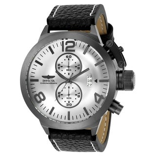 Link to Invicta Men's 23690 'Corduba' Black Leather Watch Similar Items in Men's Watches