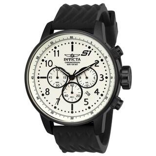 Invicta Men's 23813 'S1 Rally' Black Silicone Watch