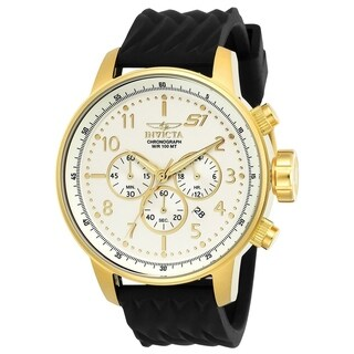 Invicta Men's 23815 'S1 Rally' Black Silicone Watch