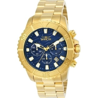 Link to Invicta Men's 24001 'Pro Diver' Gold-tone Stainless Steel Watch Similar Items in Men's Watches