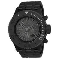 Invicta Men's 23939 'Subaqua' Black Stainless Steel Watch