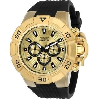 Invicta Men's 24387 'I-Force' Black Silicone Watch