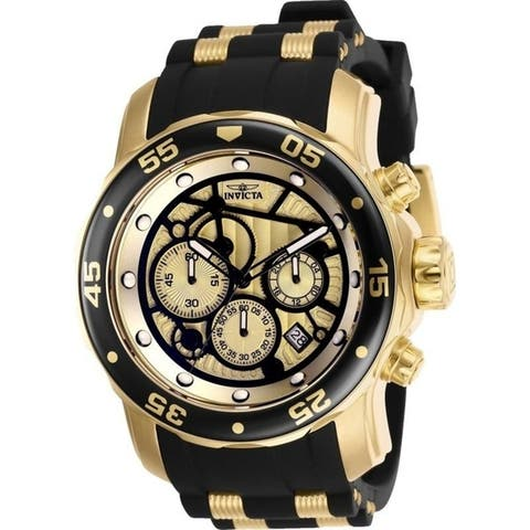 Invicta Men's Pro Diver 25709 Gold Watch