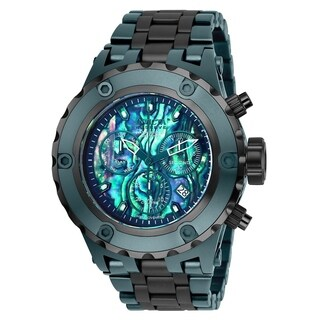 Invicta Men's 25911 'Reserve' Specialty Subaqua Green Stainless Steel Watch