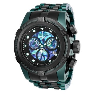 Invicta Men's 25920 'Reserve' Bolt Zeus Green Stainless Steel Watch