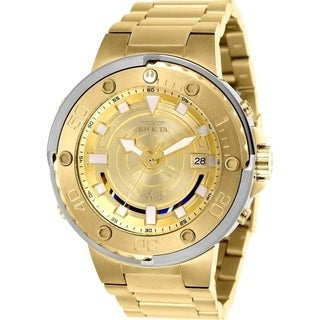Invicta Men's 26114 'Star Wars' C-3PO Automatic Gold-tone Stainless Steel Watch