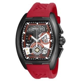 Invicta Men's 25934 'S1 Rally' Diablo Red Silicone Watch