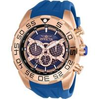 Invicta Men's 26305 'Speedway' Blue Silicone Watch