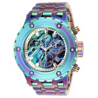 Invicta Men's 26565 'Subaqua' Iridescent Stainless Steel Watch