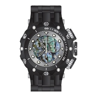 Invicta Men's 26591 'Venom' Venom Black Silicone Watch