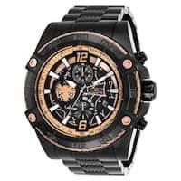 Invicta Men's 26858 'Marvel' Spiderman Black Stainless Steel Watch