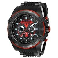 Invicta Men's 26949 'Marvel' Black Stainless Steel Watch