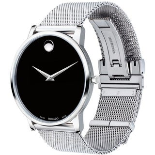 Movado Men's 0607219 'Museum' Stainless Steel Watch