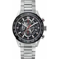 Tag Heuer Men's CAR201V.BA0766 'Carrera' Chronograph Automatic Stainless Steel Watch
