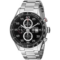 Tag Heuer Men's CAR2A10.BA0799 'Carrera' Chronograph Automatic Stainless Steel Watch