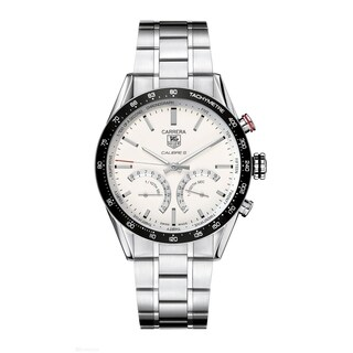 Tag Heuer Men's CV7A13.BA0795 'Carrera Limited Edition' Hybrid Mechanical Stainless Steel Watch