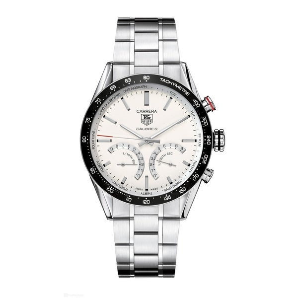 4b4aa2158a8 Shop Tag Heuer Men's CV7A13.BA0795 'Carrera Limited Edition' Hybrid  Mechanical Stainless Steel Watch - Free Shipping Today - Overstock -  22749522
