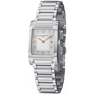 Baume & Mercier Women's MOA10049 'Hampton' Stainless Steel Watch