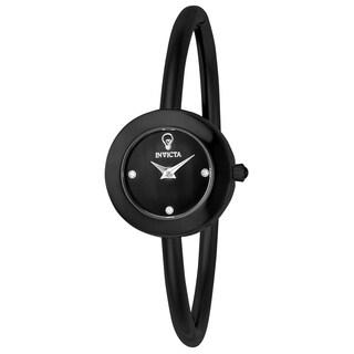 Invicta Women's 23261 'Gabrielle Union' Black Stainless Steel Watch